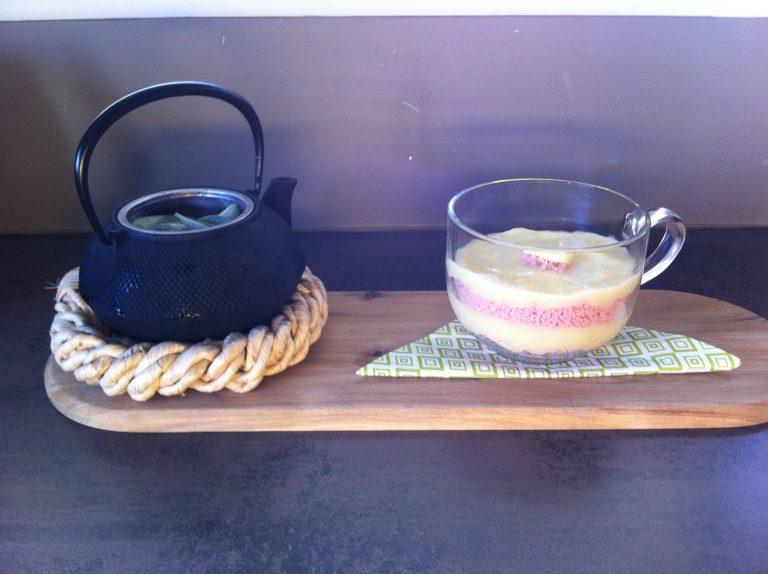 Recette Mixée de jambon à la purée de céleri