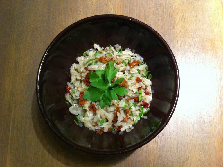 Recette salade de topinambours 2