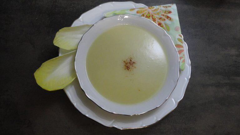 soupe d'endive facile rapide allégée